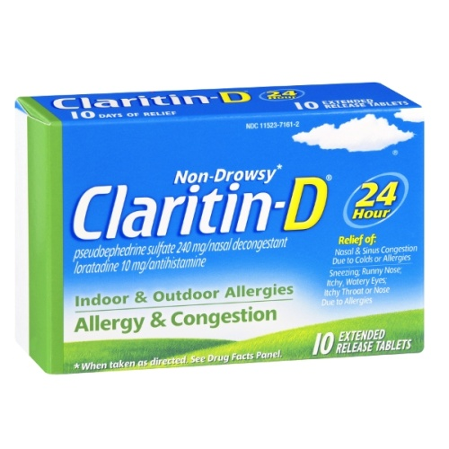 how long does claritin d take to work